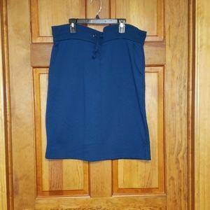 Agnes & Dora Teal weekender skirt